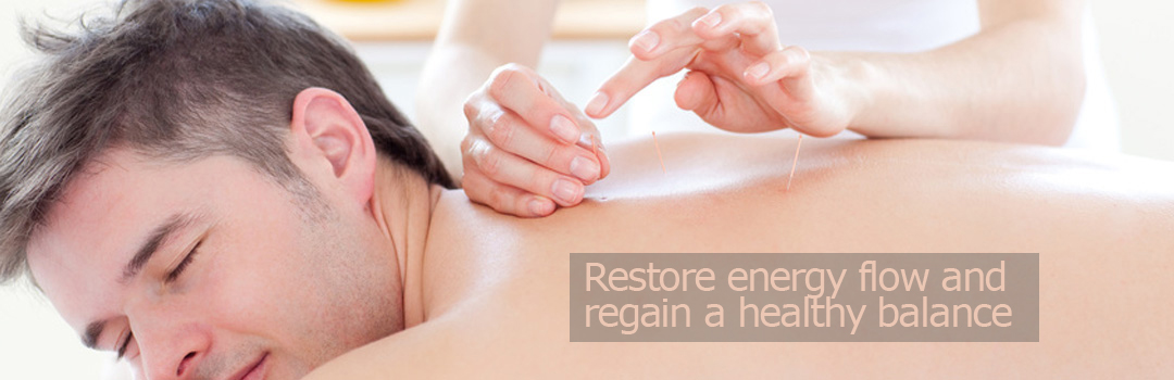 Restore energy flow and regain a healthy balance with acupuncture